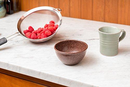 EVO Sustainable Goods 10 oz. Bowl Set, Dark Brown by EVO Sustainable Goods (Image #3)