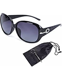 Women's Shades Classic Oversized Polarized Sunglasses...