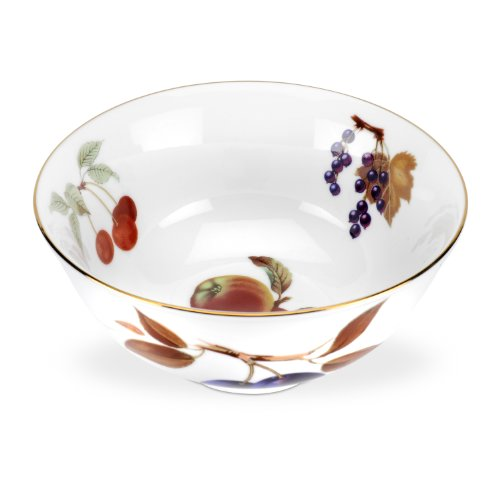Royal Worcester Evesham Gold Deep Bowl
