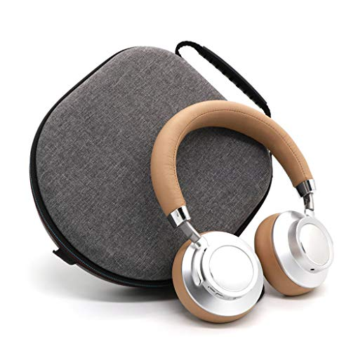 Shaoge Portable Headphone Earphone Carrying Case Protective Storage Bag for BeoPlay H2 H6 H7 H8 H9 for MDR 770BN AKG F3 Parrot Zik Headset Accessories