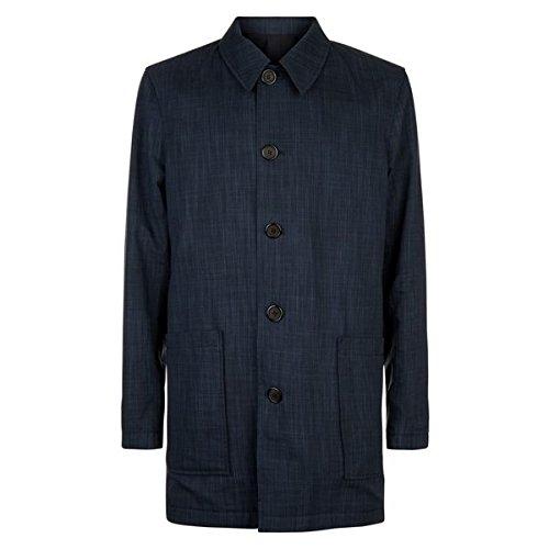 イエーガー メンズ ジャケット&ブルゾン Cotton Grid Reversible Mac [並行輸入品] B07D47S2W3 Large