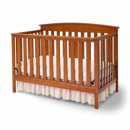 Delta Gateway 4-in-1 Fixed-Side Crib warm honey (4in 1 Crib Honey)