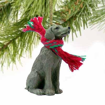 - Weimaraner Miniature Dog Ornament
