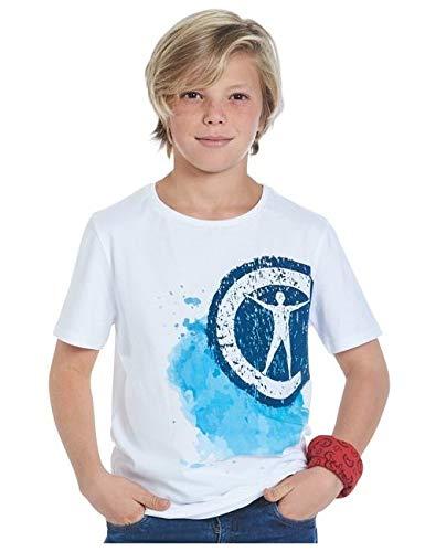 Studio 100 T-Shirt et Bandana Campus 12gar/çon Blanc Taille 140