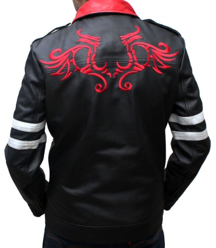 Prototype Real Black Retro Leather Jacket For Men (L)