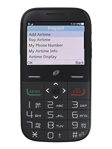 Alcatel Big Easy Plus Prepaid Phone with Double Minutes (Tracfone) (Easy Texting Cell Phone)