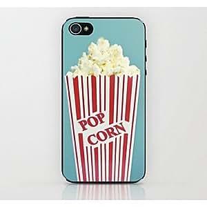 GOG- Popcorn Pattern Hard Case for iPhone 4/4S