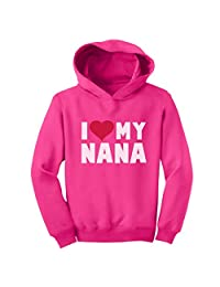 TeeStars - I Love Heart My Nana Children's Mother's Day Gift Toddler Hoodie