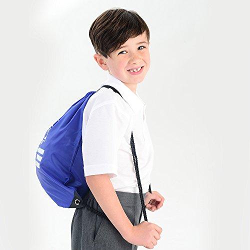 os escolar ni unisex gimnasio impermeable azul para La mejor de bolsa TCT67q