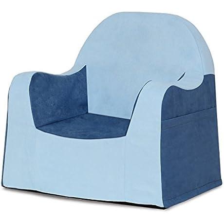 P Kolino Little Reader Chair Light Blue
