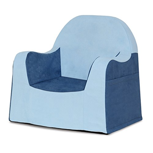 (P'Kolino Little Reader Chair, Light Blue)