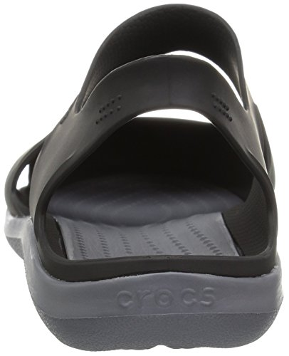 Noir Swiftwater Crocs Black Wave Femme Mules 001 wpRFOI
