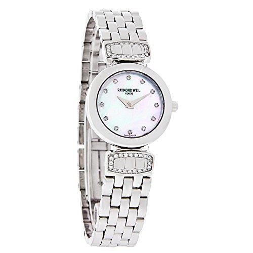 Raymond Weil White Bracelet - Raymond Weil Stainless Steel Chorus Link Watch