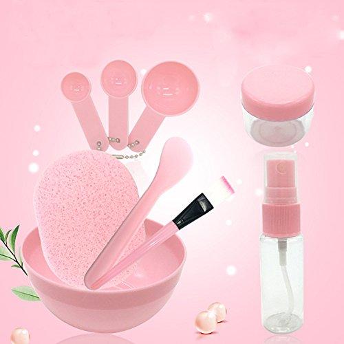 Topxome 9PC/Set DIY Face Mask Makeup Tools Beauty Brush Spoon Stick Bowl Spray Pinceis De Maquiagem Profissional Makeup Brush Cosmetics