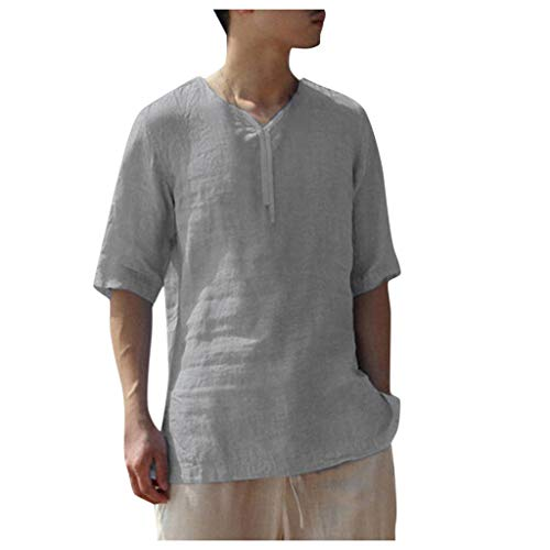 iHPH7 Shirts Casual Short Sleeve Loose Fit Beach