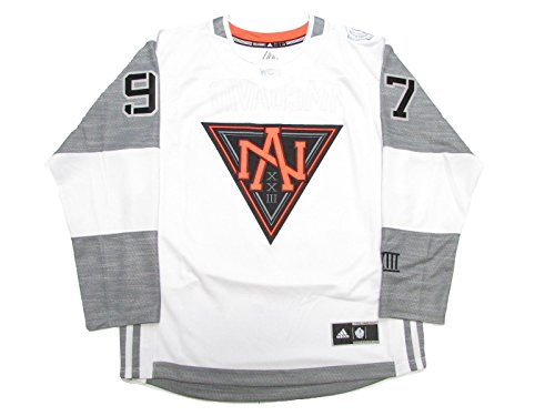 Connor McDavid #97 Team North America Youth 2016 World Cup of Hockey Premier Jersey White (Youth S/M)