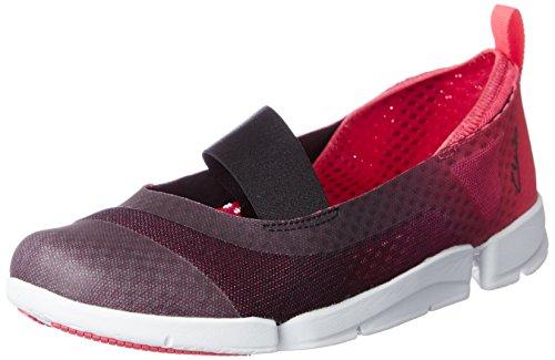 Clarks Tri Skipp, Women's Low-Top Sneakers Violet (Berry)