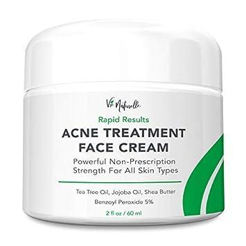 Acne Treatment Cream - Benzoyl Peroxide 5% - (2 oz) Topical Anti Pimple