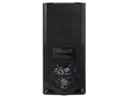 Thermaltake V4 Black Edition SECC/Plastic ATX Mid Tower Computer Case VM30001W2Z (Black) (Thermaltake V3 Black Edition Atx Mid Tower)