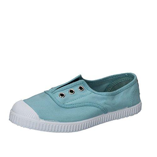 Cienta 70777 21/27 gris unisex zapatos de la tela elástica 25 scUD79