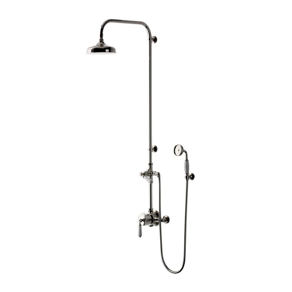 Waterworks Easton Classic Exposed Thermostatic System without Handshower in Brushed Nickel