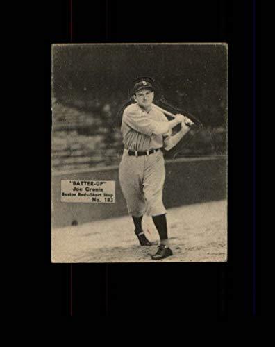 (1934 Batter-Up Baseball #183 Joe Cronin STARX 5 EX CS43969)