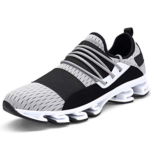 Shoes Casual Fashion Breathable Grey Sport Blade Mens Sneakers Walking Trainers xnwFZ5qfpO