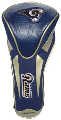 Team Golf NFL Los Angeles Rams Golf Club Single Apex Driver Headcover, Fits All Oversized Clubs, Truly Sleek Design