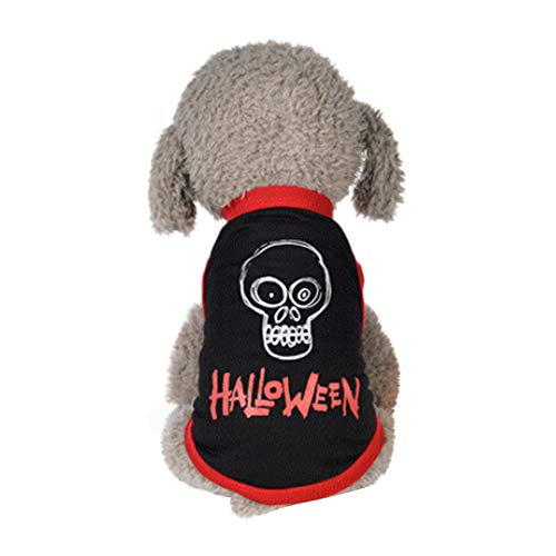 Dog Halloween Vest, Laimeng_World Pet Halloween Cute Vest Pet Clothing Small Puppy Costume Dog Halloween Apparel