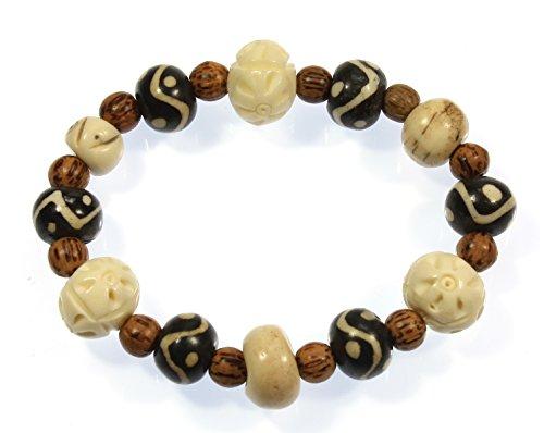 Horn Bone Beads - 9