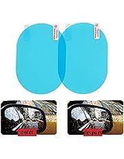 Mica Anti-empañaduras Espejos Laterales De Auto Anti-Lluvia y Neblina Oval