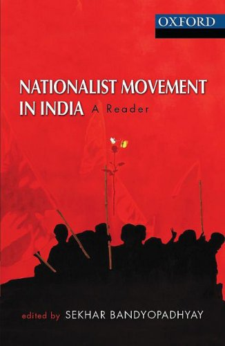 Nationalist Movement in India: A Reader