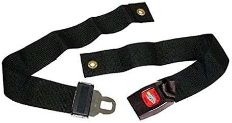 """Wheelchair Strap Seat Belt Auto Style with Metal Buckle (Up to 60"""") by HEALTHLINE"""