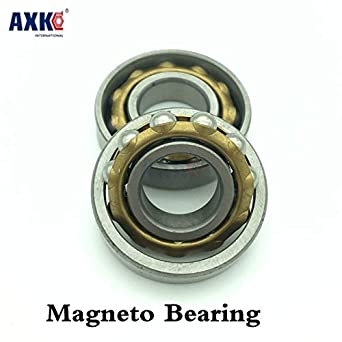 1PC Angular Contact Separate Permanent Motor Ball Bearings Magneto Bearing L17