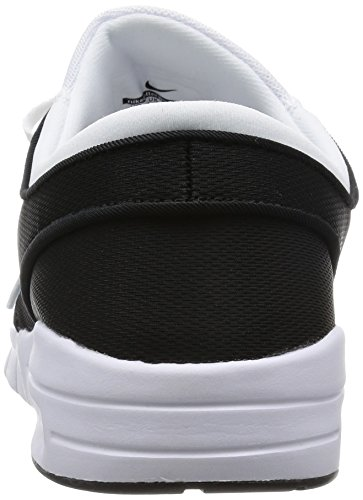 Nike Stefan Janoski Max Herren Turnschuhe Weiß / Metallic Silber-Schwarz