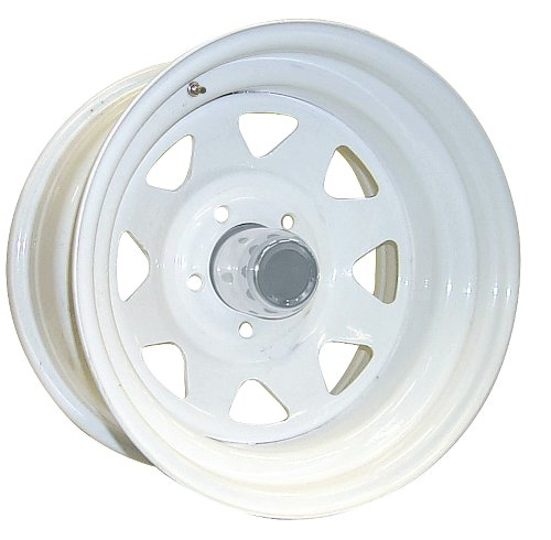 Pro Comp Steel Wheels Series 82 Wheel with Gloss White Finish ()