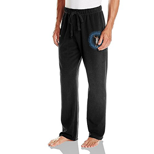 VINCEIE Danilo Poster Gallinari Sweatpants Running Pants For Mens Size XL ()