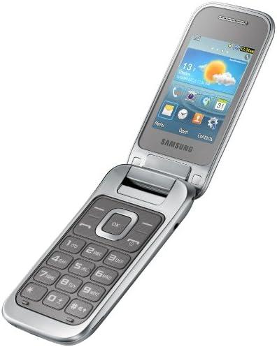 Samsung C3590 Telefono Cellulare, Argento [Italia]