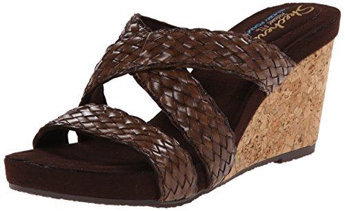 42fba59a50d7 Skechers Cali Women s Modiste Fish Tail Wedge Sandal