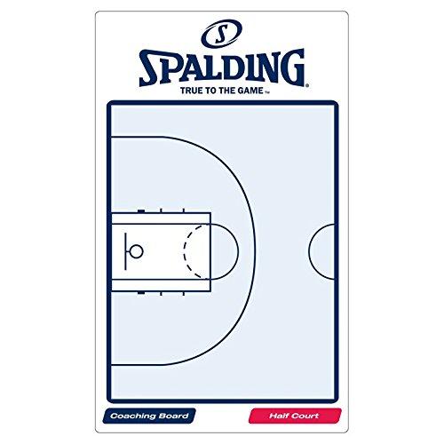 Spalding, Lavagna tattica da basket, Bianco (weiß/blau), taglia unica 300157403