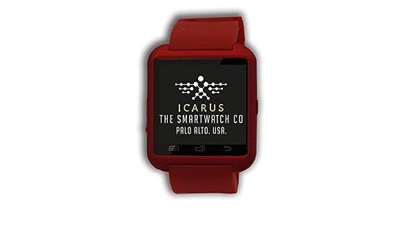 Icarus Richmond - Smartwatch con Bluetooth, procesador CPU MTK6260 ...