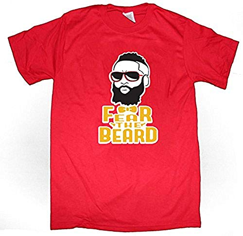 James T-shirt Adult - Red Houston Harden