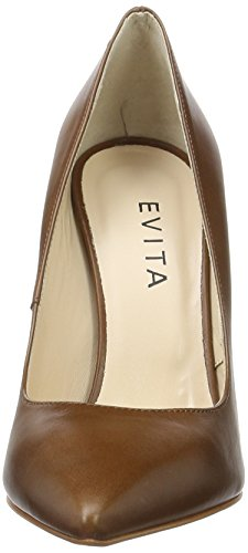 Evita Shoes Alina - Tacones Mujer Braun (Cognac 26)