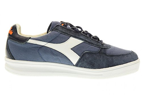 Diadora Heritage, Uomo, B. Elite, Canvas/suede, Sneakers, Blu, 43 EU