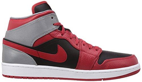 Nike Air Jordan 1 Mid Red 554724 603 Red