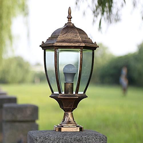 Outdoor Lighting For Brick Pillars in US - 5