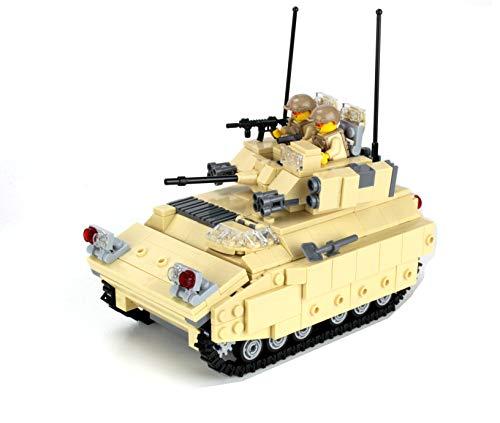 Battle Brick Bradley Army IFV Custom Set (Lego Call Duty)