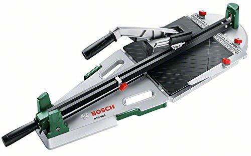 Bosch DIY Fliesenschneider PTC 640, Karton (max. Fliesenstärke: 12 mm, max. Schnittlänge: 640 mm, max. Diagonalschnittlänger: 450 mm)
