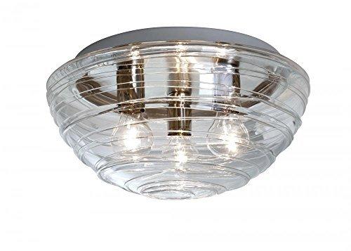 Besa Flush Light (Besa Lighting 906361C Wave Ceiling Flush Mount Light Fixture by Besa )