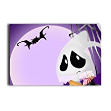 20X30 Inch Poster Too Scary Full Moon Wall Sticker Party Classroom Decor